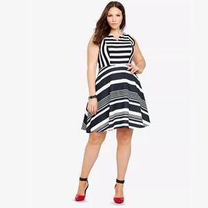 Plus size Torrid dress - scuba knit -torrid size 3